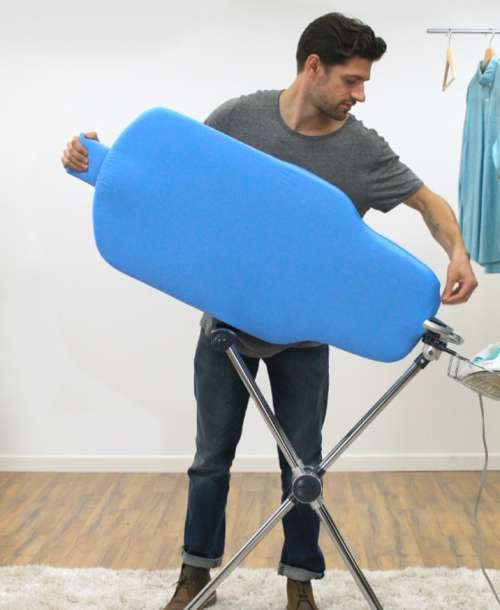 Extra features of ironing boards enhance its productivity
