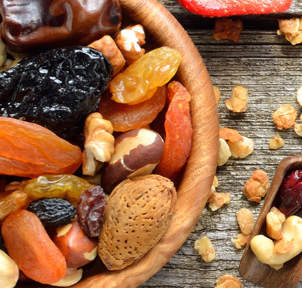 bulk dried fruit